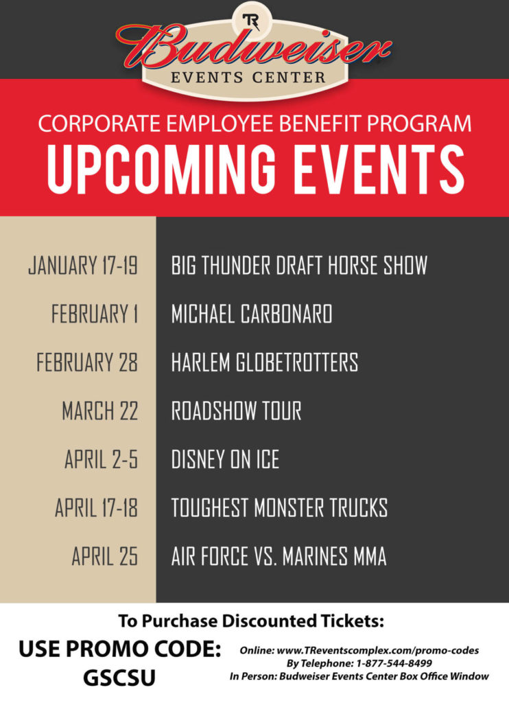 Budweiser Upcoming Events